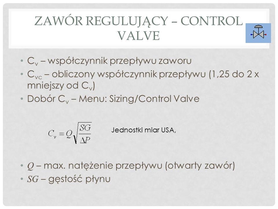 Zawór regulujący – Control Valve