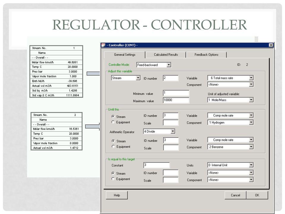 Regulator - Controller