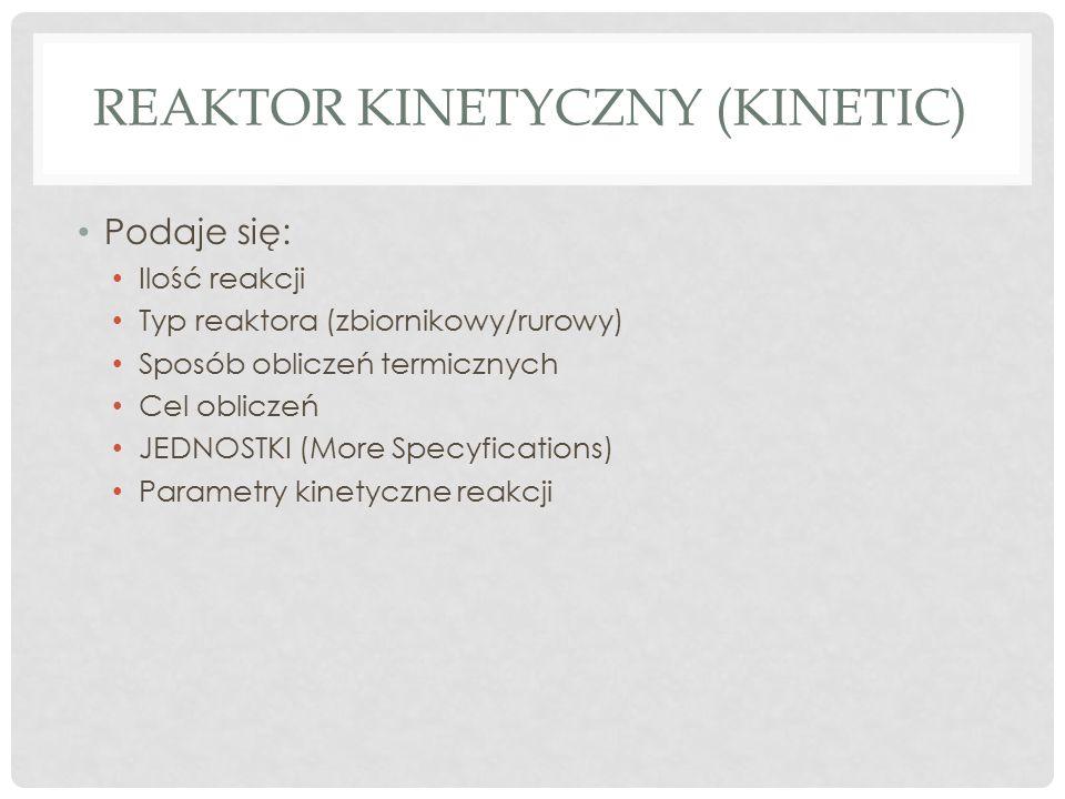 Reaktor kinetyczny (kinetic)