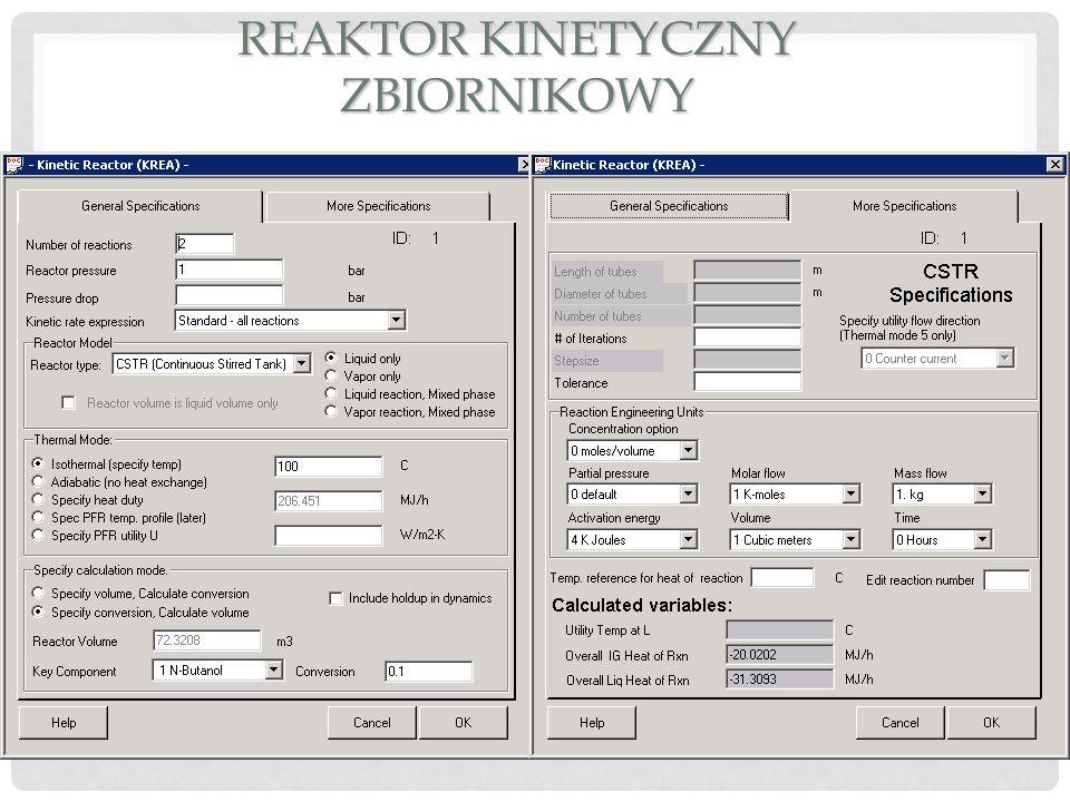 Reaktor kinetyczny zbiornikowy