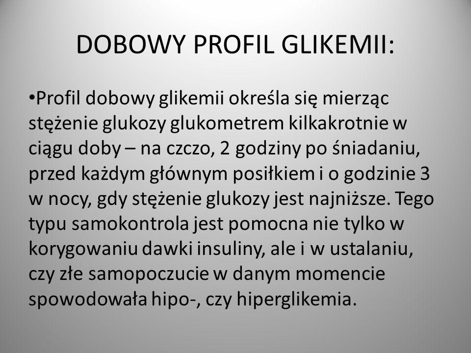 DOBOWY PROFIL GLIKEMII: