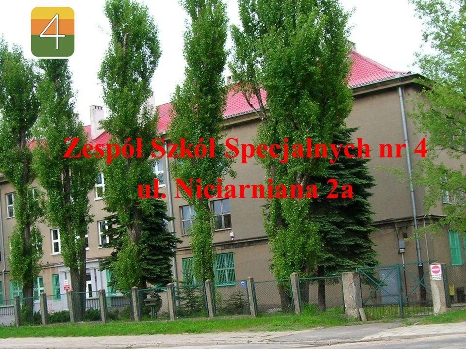 Zespół Szkół Specjalnych nr 4 ul. Niciarniana 2a