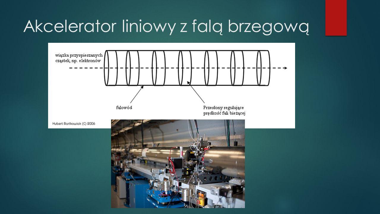Akcelerator liniowy z falą brzegową