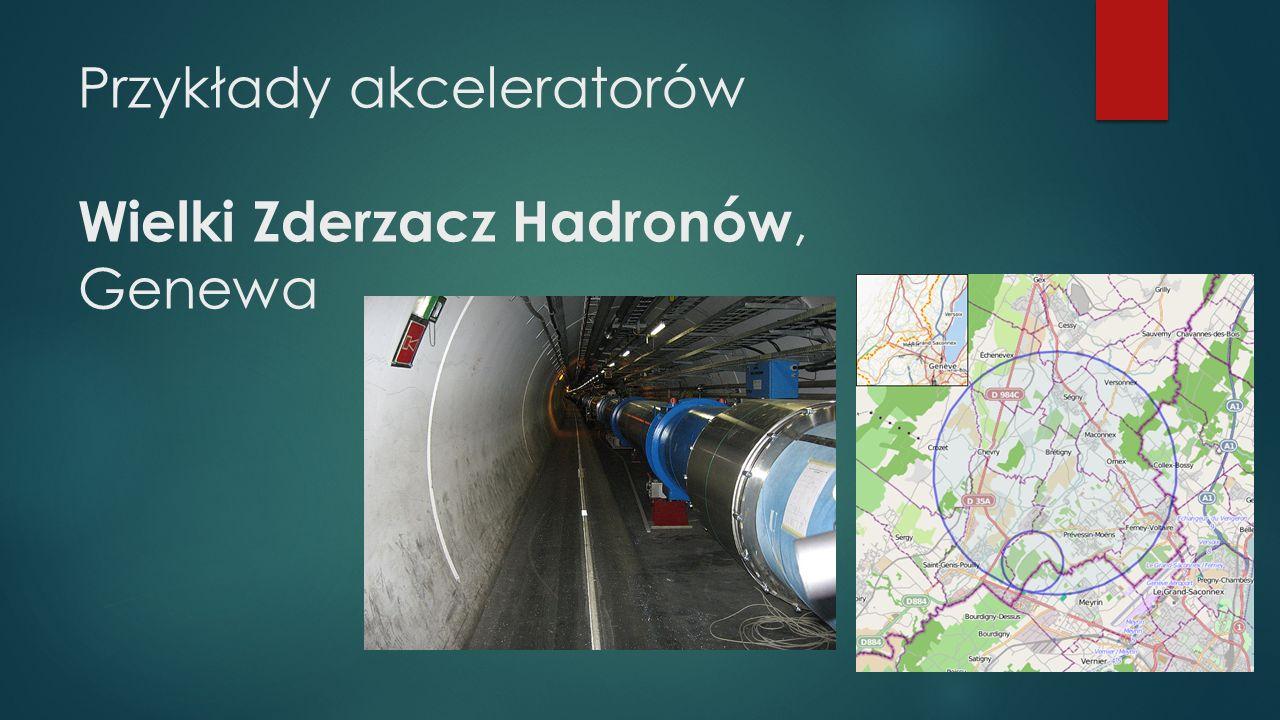 Przykłady akceleratorów Wielki Zderzacz Hadronów, Genewa