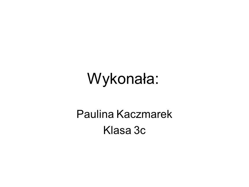 Paulina Kaczmarek Klasa 3c