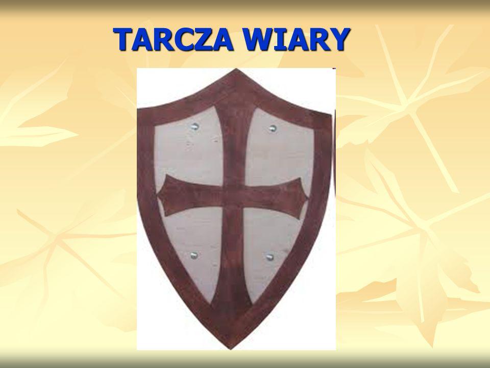 TARCZA WIARY