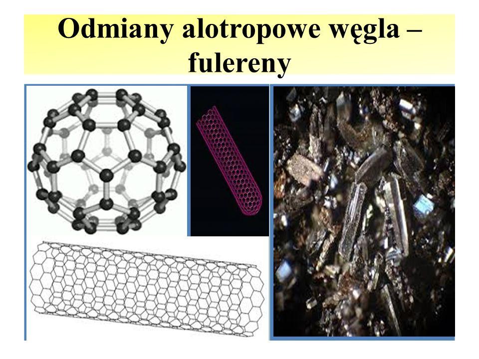 Odmiany alotropowe węgla – fulereny