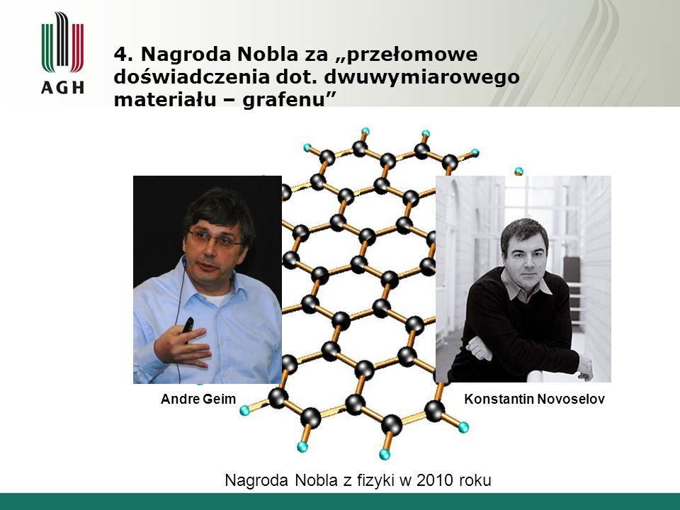 """4. Nagroda Nobla za """"przełomowe doświadczenia dot"""