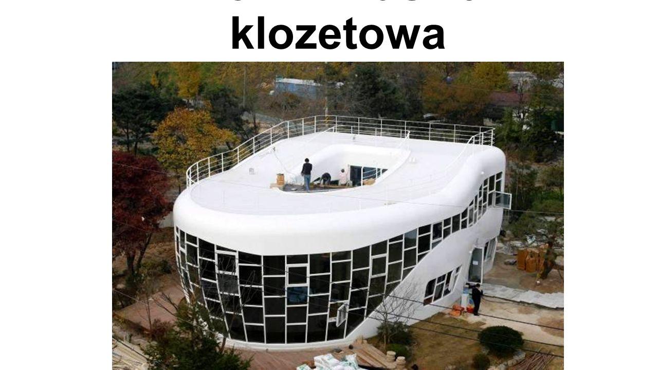Dom - muszla klozetowa