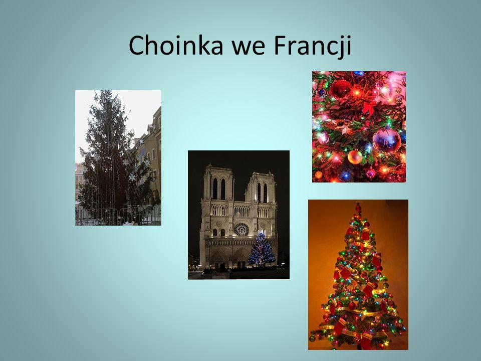 Choinka we Francji