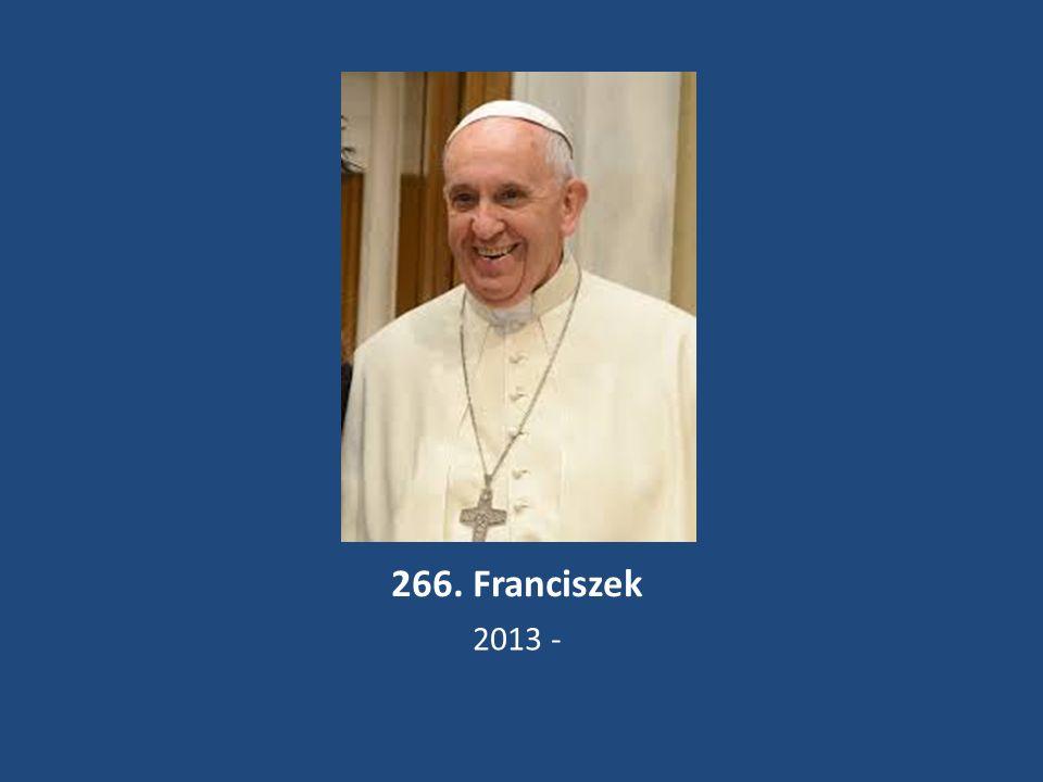 266. Franciszek 2013 -