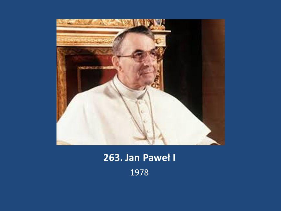 263. Jan Paweł I 1978
