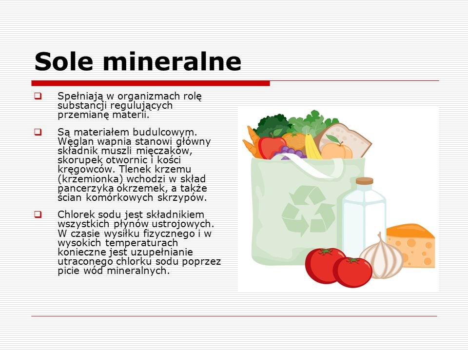 Sole mineralne