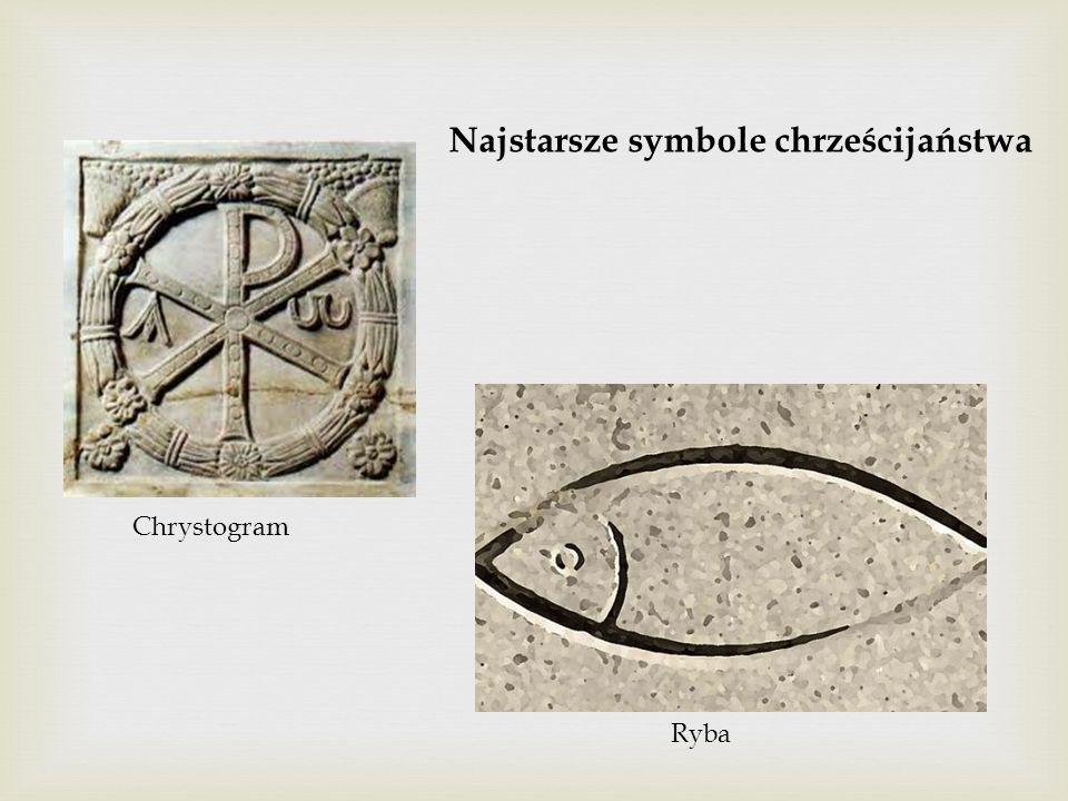 Najstarsze symbole chrześcijaństwa