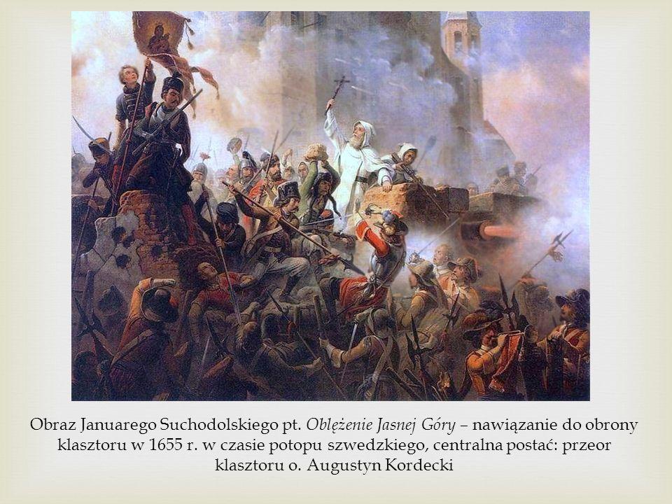 Obraz Januarego Suchodolskiego pt