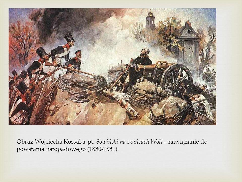 Obraz Wojciecha Kossaka pt