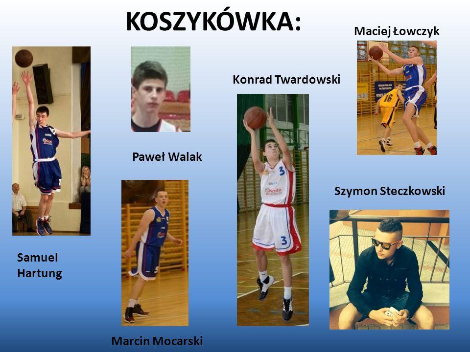 KOSZYKÓWKA: Maciej Łowczyk Konrad Twardowski Paweł Walak