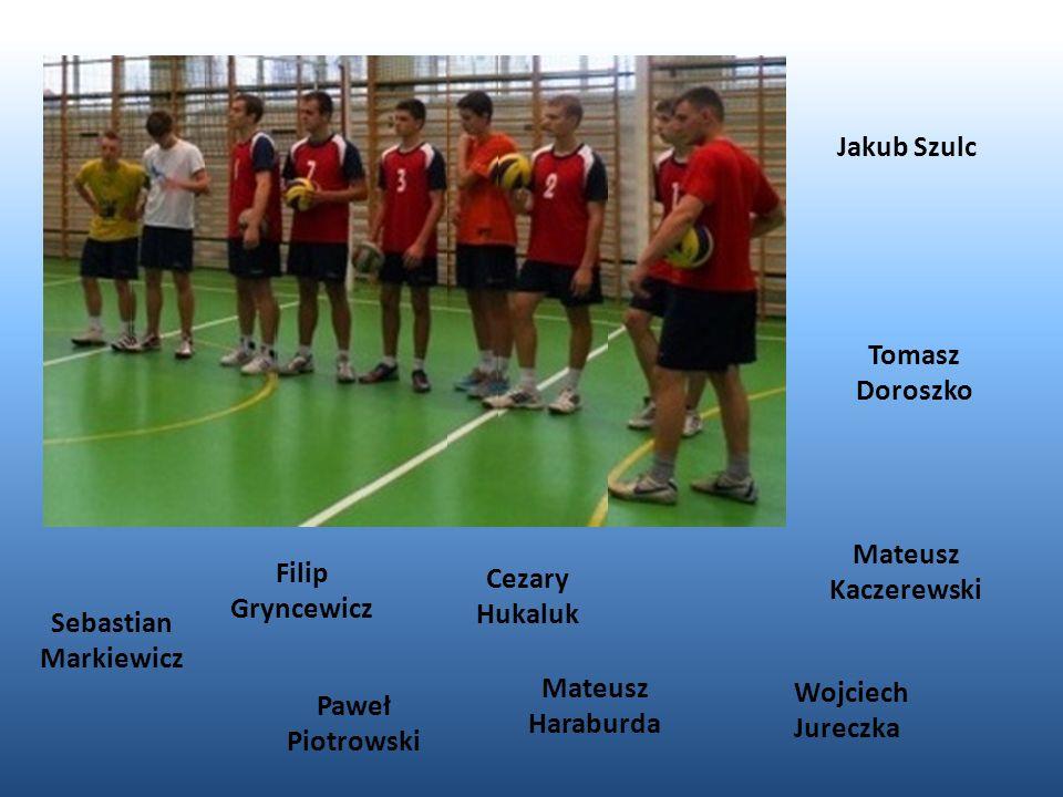 Jakub Szulc Tomasz Doroszko. Mateusz Kaczerewski. Filip Gryncewicz. Cezary Hukaluk. Sebastian Markiewicz.