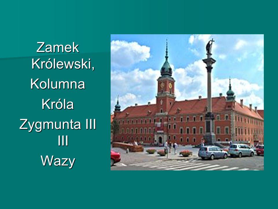 Zamek Królewski, Kolumna Króla Zygmunta III Wazy