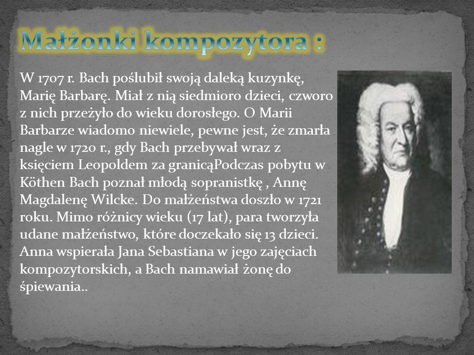 Małżonki kompozytora :