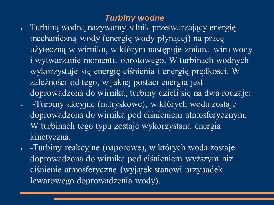 Turbiny wodne