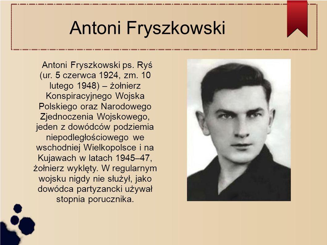 Antoni Fryszkowski