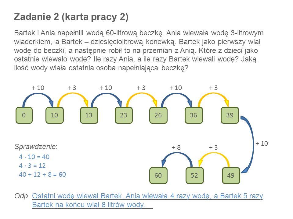 Zadanie 2 (karta pracy 2)