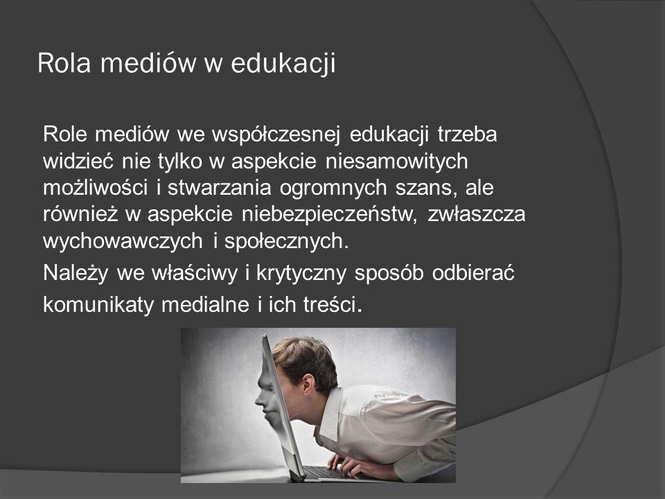Rola mediów w edukacji