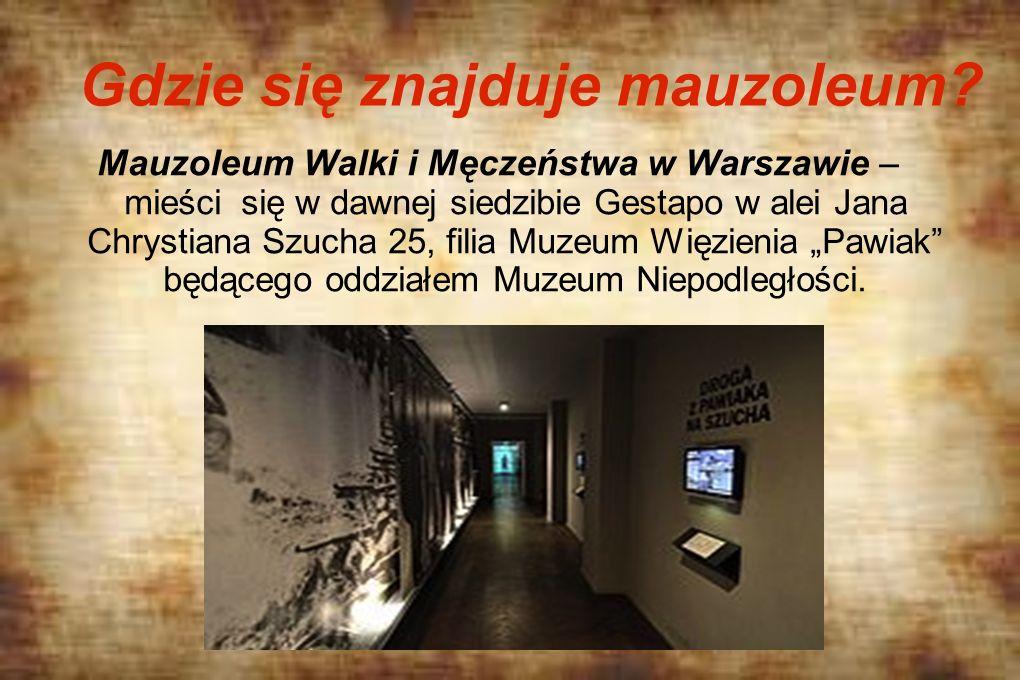Gdzie się znajduje mauzoleum