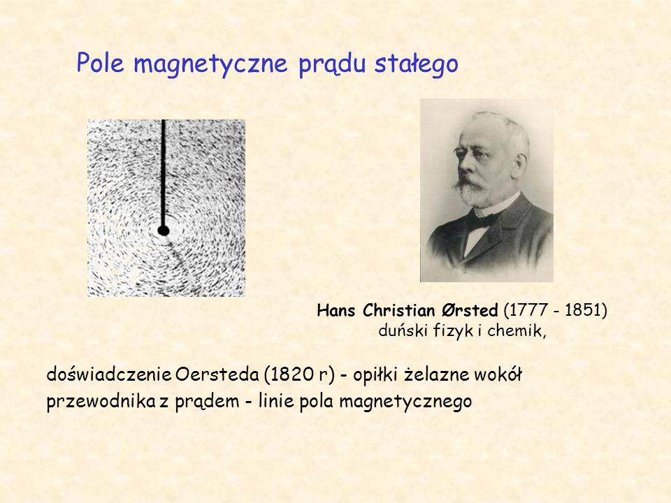 Hans Christian Ørsted (1777 - 1851) duński fizyk i chemik,