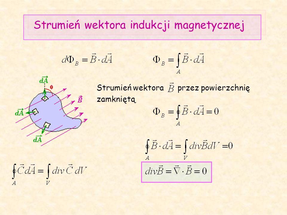 Strumień wektora indukcji magnetycznej