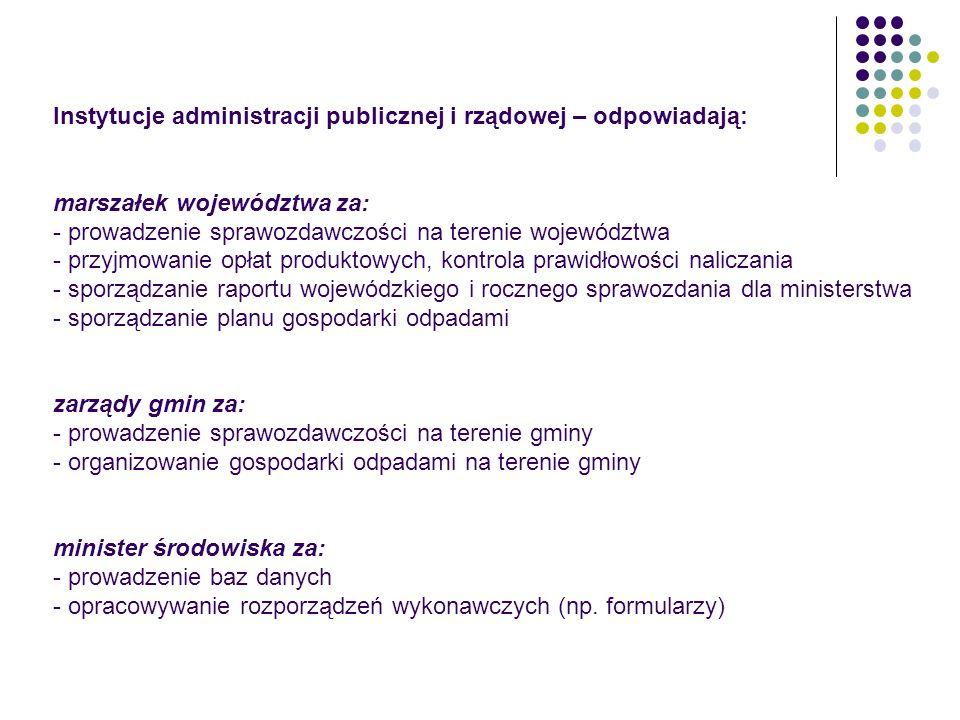 Instytucje administracji publicznej i rządowej – odpowiadają: