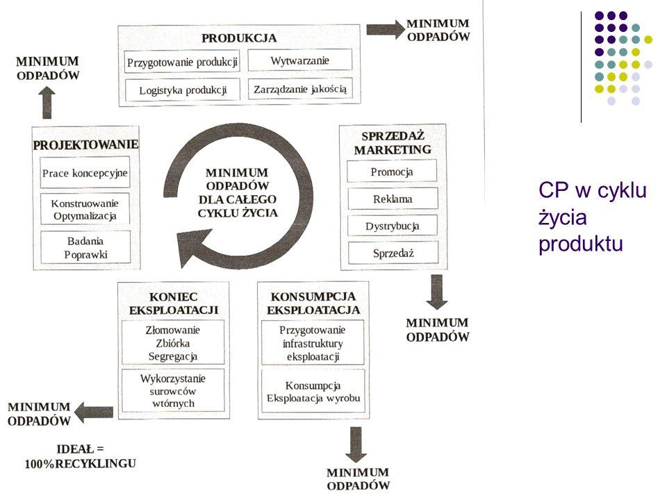 CP w cyklu życia produktu