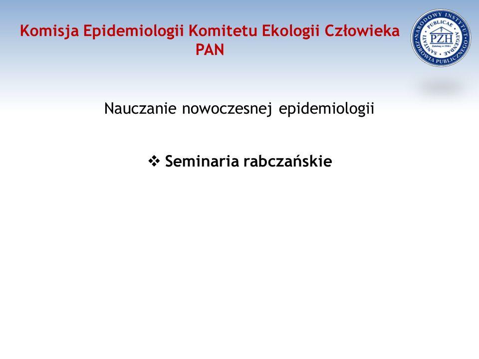 Komisja Epidemiologii Komitetu Ekologii Człowieka PAN