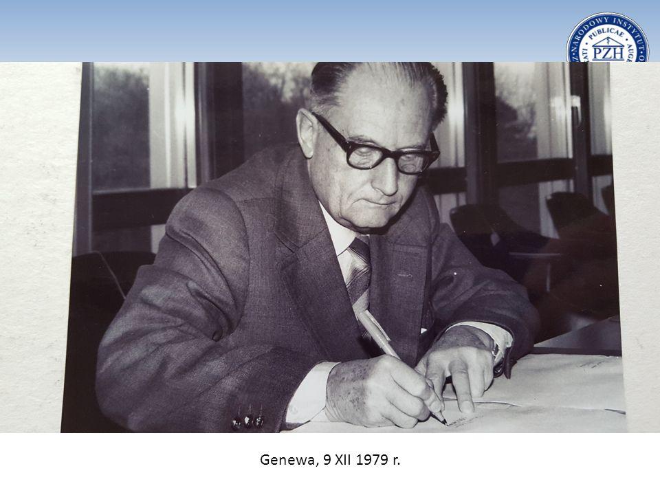 Genewa, 9 XII 1979 r.