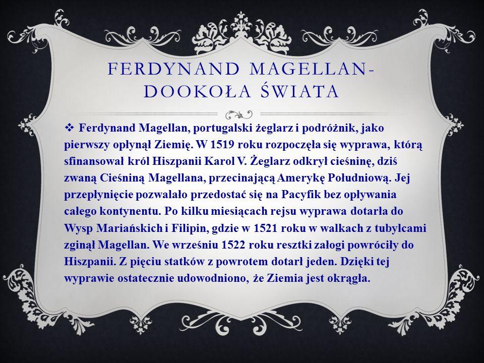 Ferdynand magellan-dookoła świata