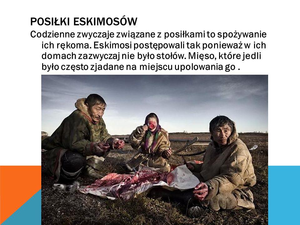 Posiłki Eskimosów