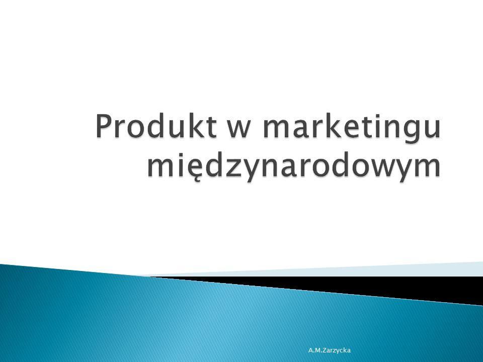 Produkt w marketingu międzynarodowym