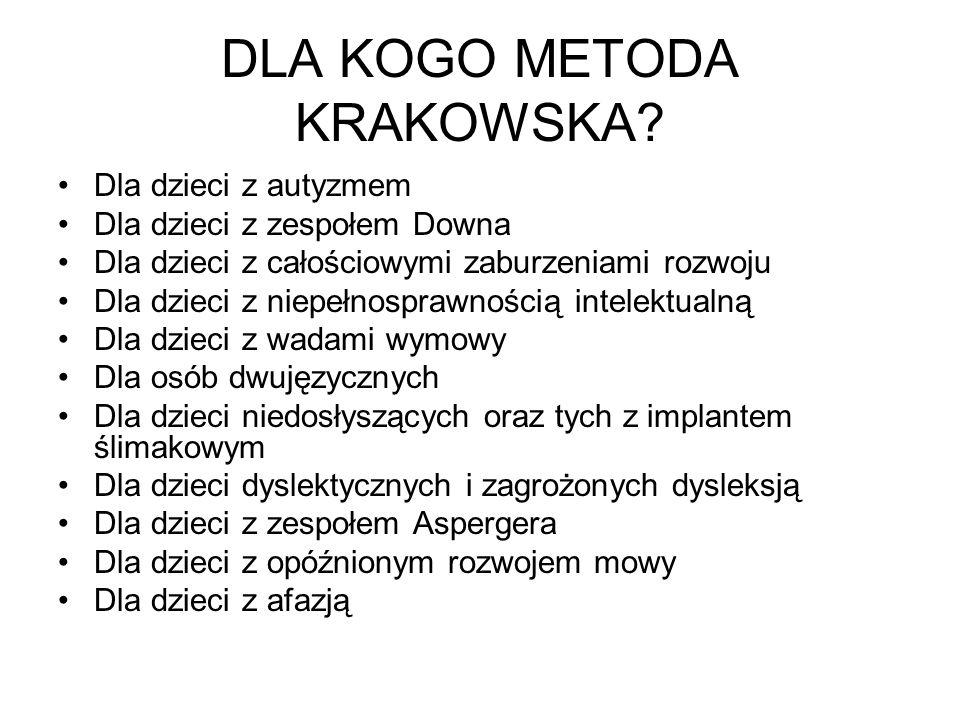 DLA KOGO METODA KRAKOWSKA