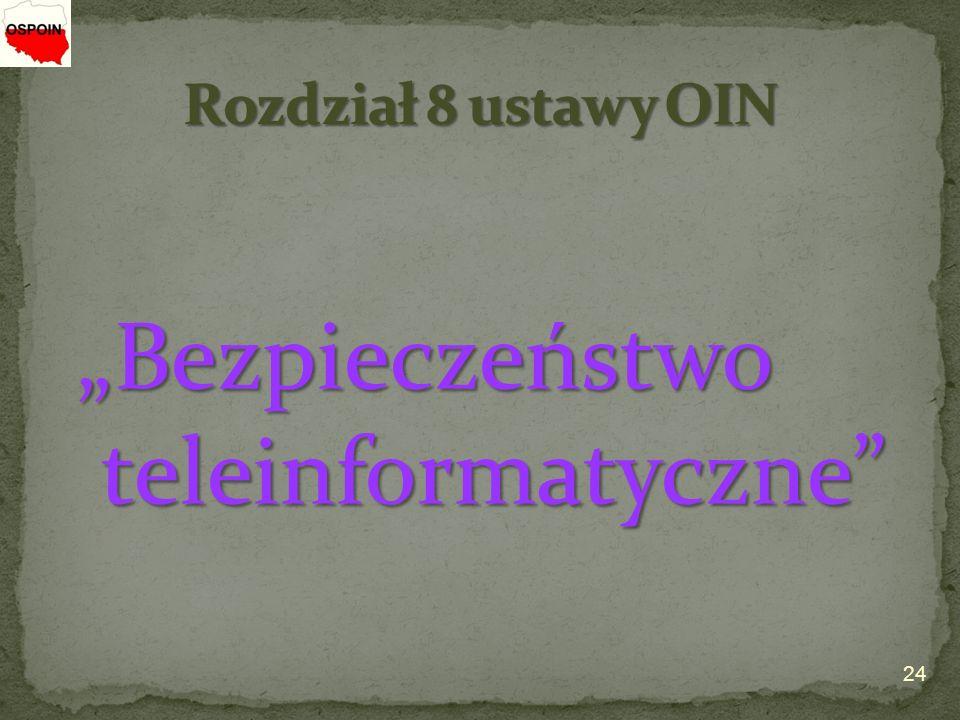 """""""Bezpieczeństwo teleinformatyczne"""