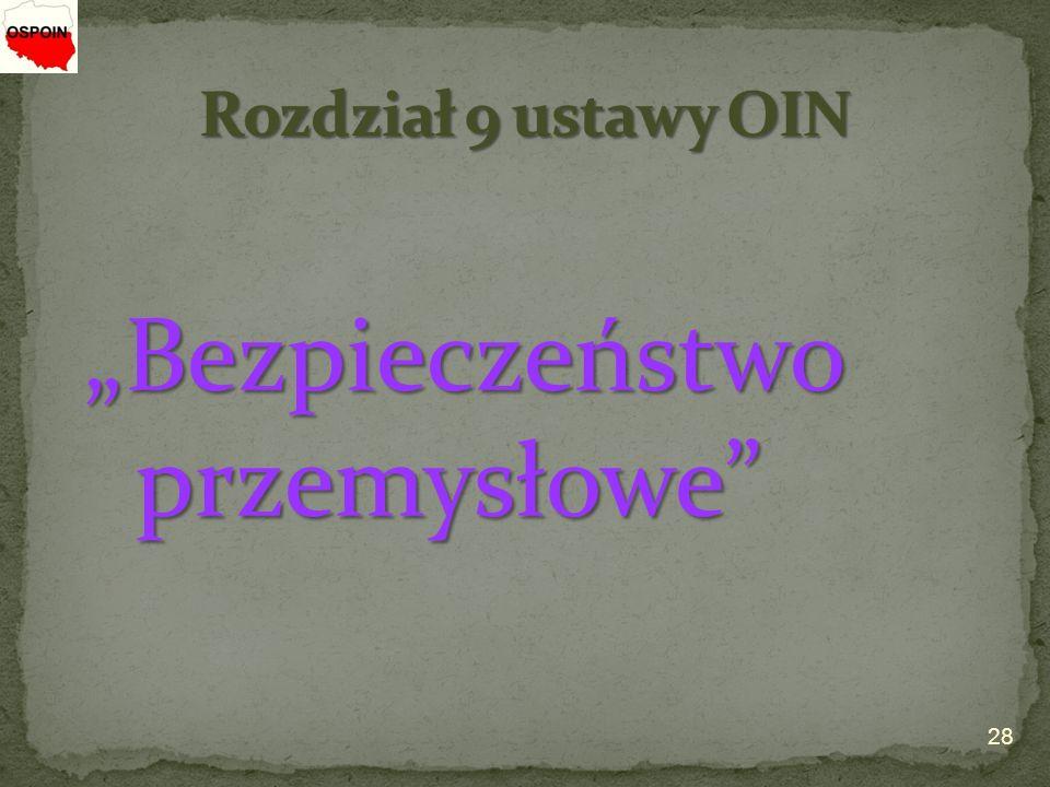 """""""Bezpieczeństwo przemysłowe"""