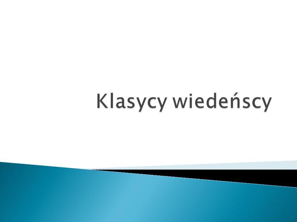 Klasycy wiedeńscy