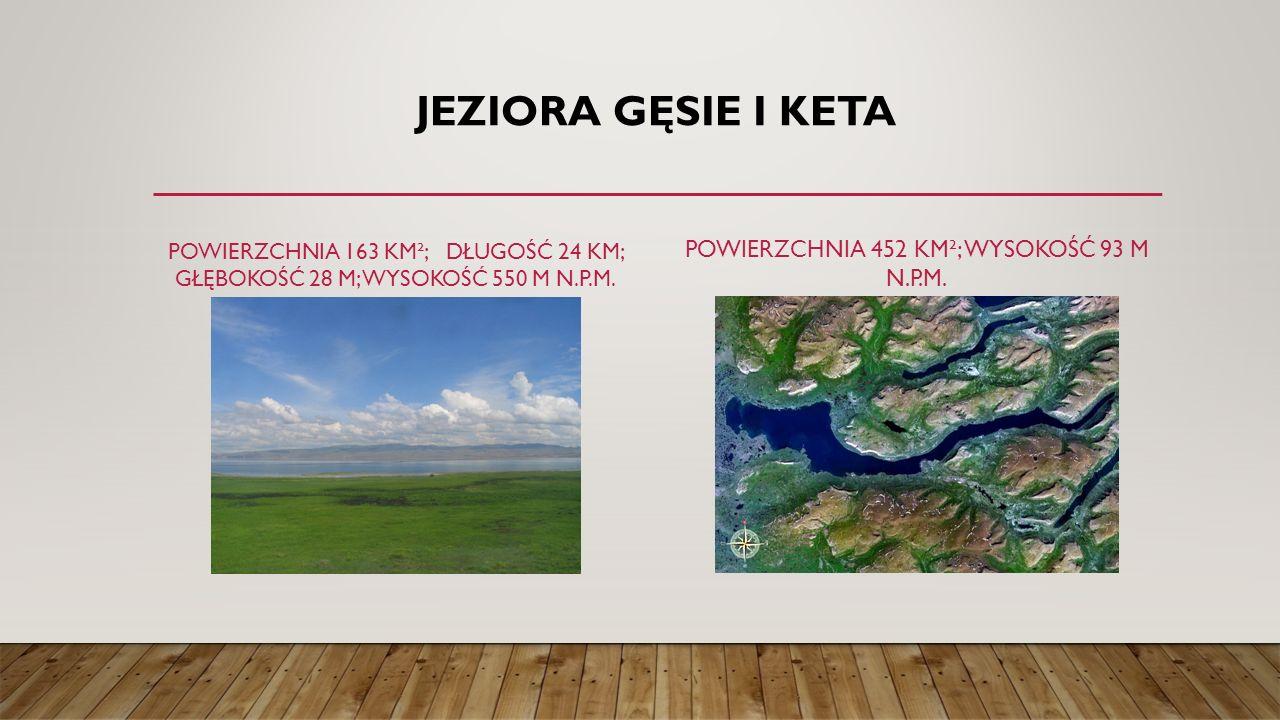 Powierzchnia 452 km²; wysokość 93 m n.p.m.