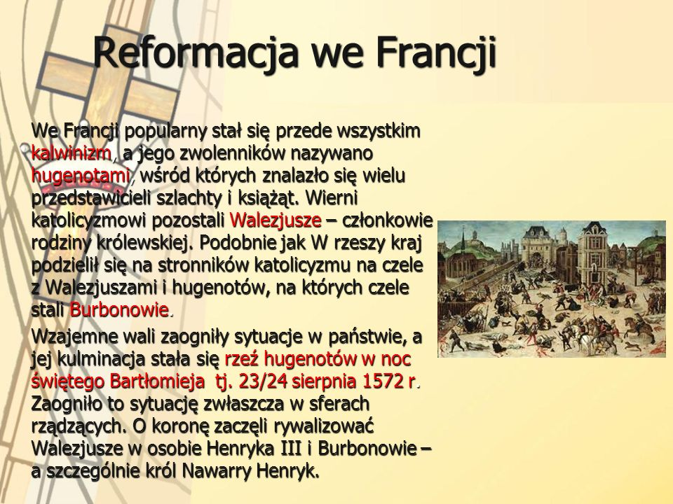 Reformacja we Francji