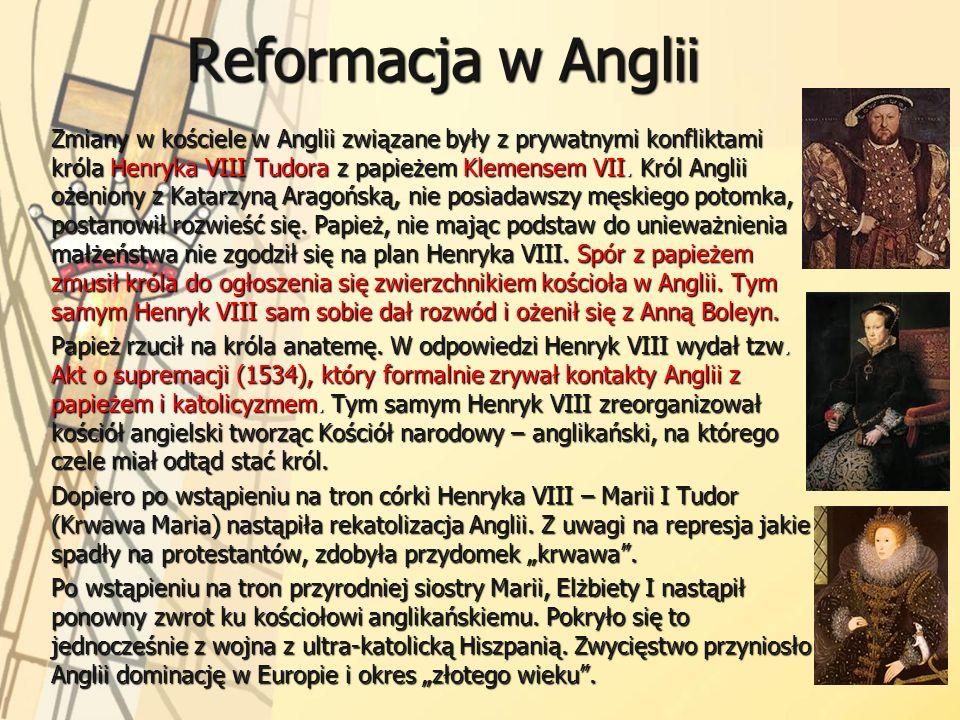 Reformacja w Anglii