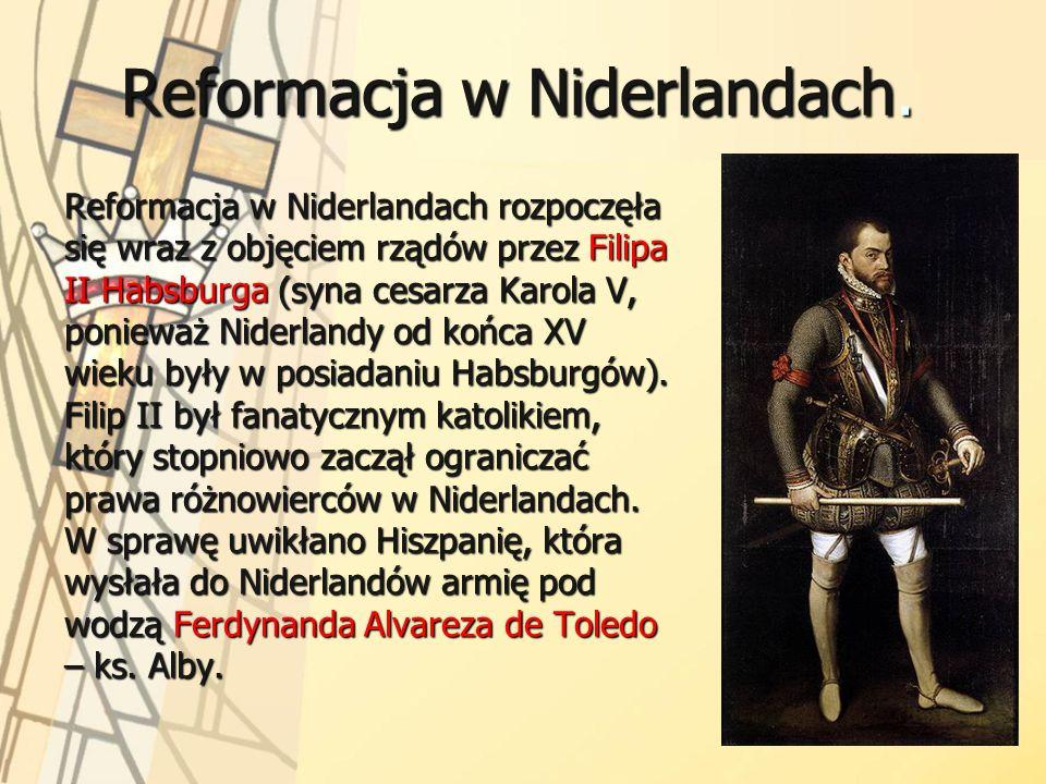 Reformacja w Niderlandach.