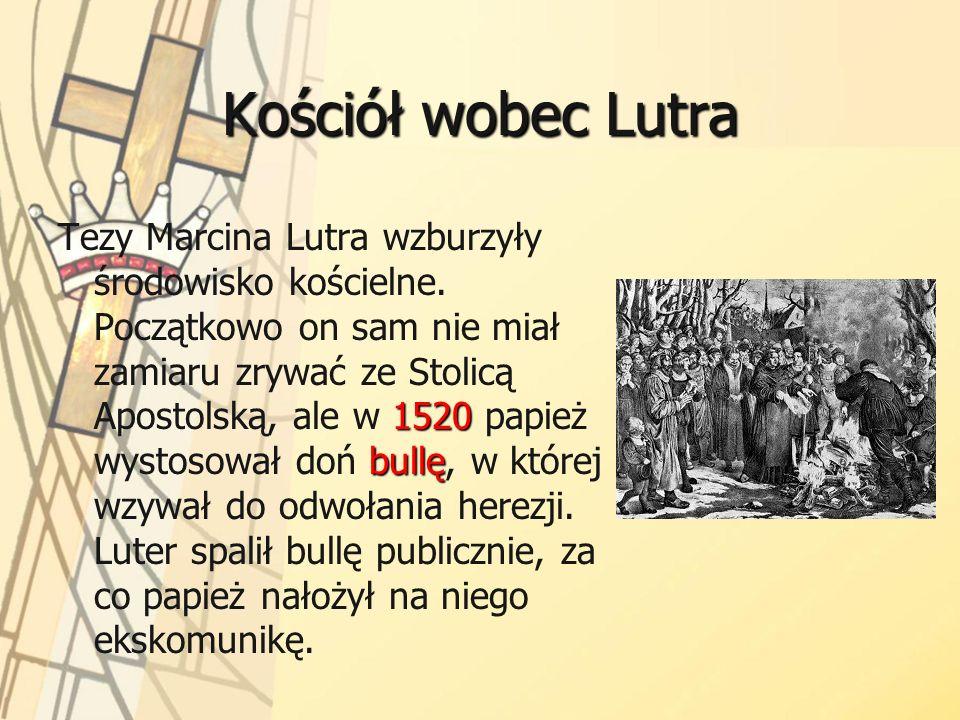 Kościół wobec Lutra