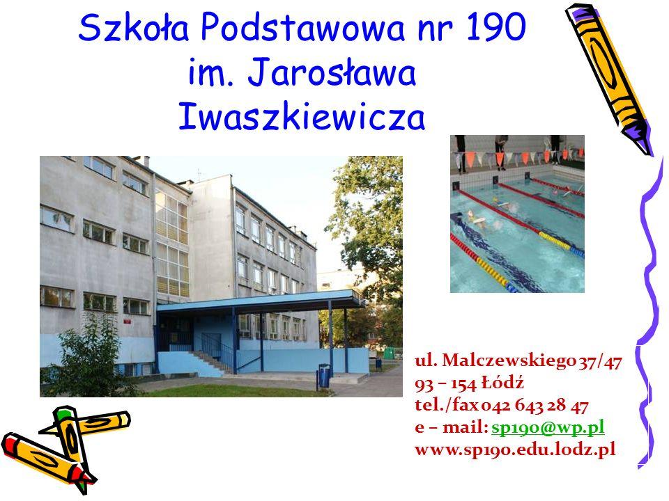Szkoła Podstawowa nr 190 im. Jarosława Iwaszkiewicza