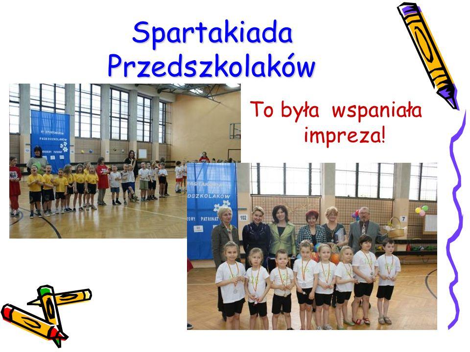 Spartakiada Przedszkolaków