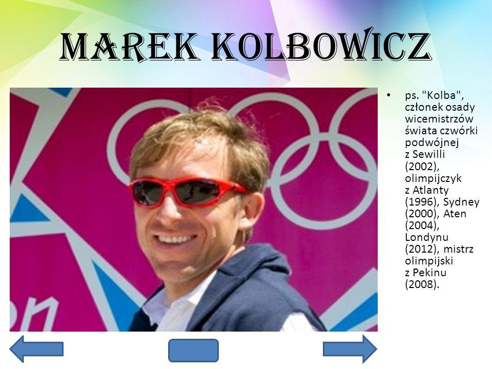 Marek Kolbowicz